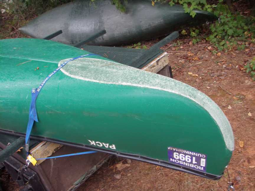 Canoe Modifications